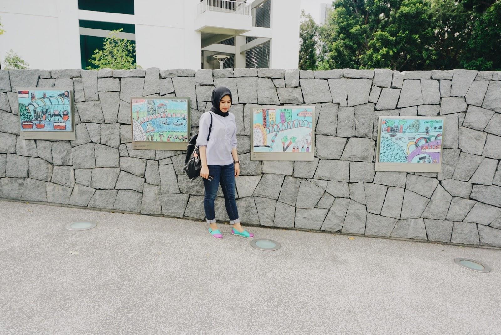 Singapore Day 3 Garden Bay The Meli Rukman Tiket Masuk By Anak Untuk Ke Ini Kami Harus Membayar Sekitar 200 Ribu Satu Orangnya Membeli Lewat Traveloka Dan Digunakan